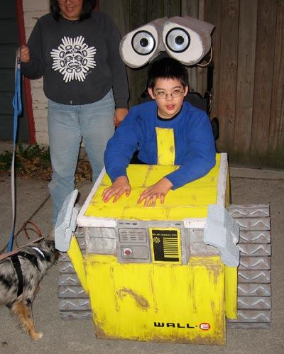 Jon as Wall-E, front