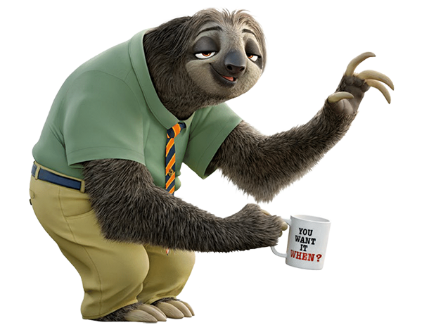 Flash from Zootopia