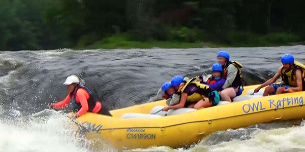 More whitewater rafting on Ottawa River