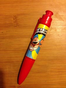 Captain Underpants pen
