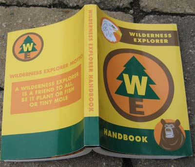 Wilderness Explorer handbook detail